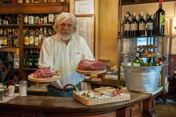 Fabio Picchi al Caffè Cibreo di Firenze