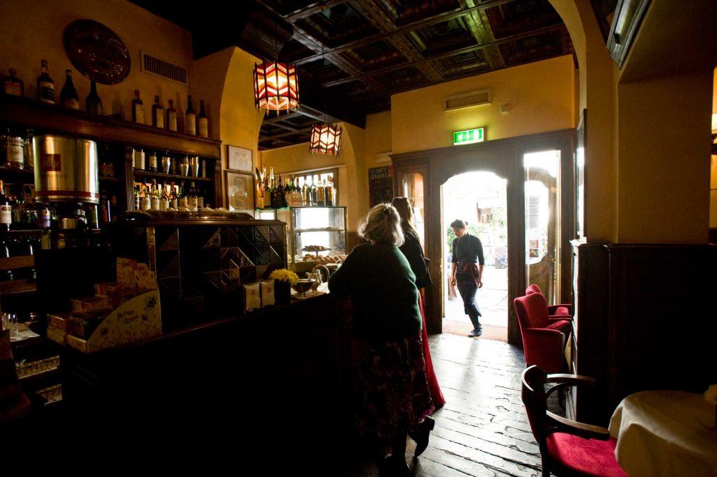 Entrata del Caffè Cibreo di Firenze