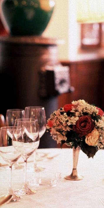 Tavolo al Ristorante Cibreo di Firenze