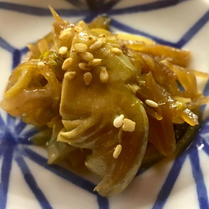 Piatto caramellato orientale