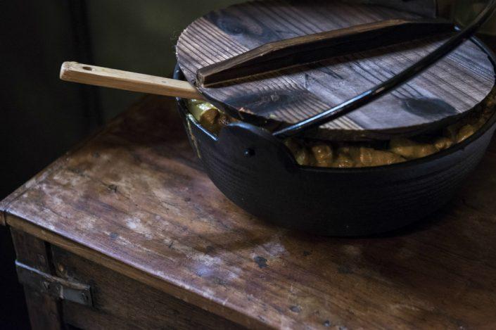 Zuppiera in legno